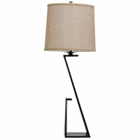 Noir Furniture Zander Table Lamp, Metal