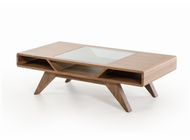 Nova Domus Soria Modern Walnut Coffee Table
