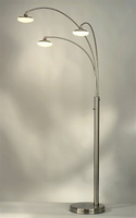 Nova Glass 3-Light, Arc Lamp