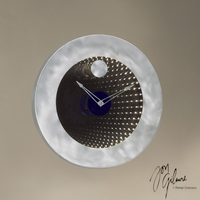 Nova Interstellar Clock in Brushed Aluminum