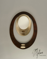 Nova Pimento Wall Mirror in Bronze