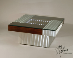 Nova Square Infinity Cocktail Table