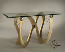 Nova Swooshball Console Table