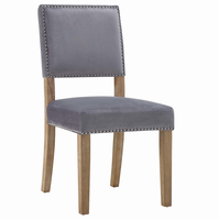 Oblige Wood Dining Chair, Gray [FREE SHIPPING]