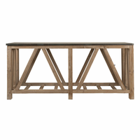 Orient Express Blue Stone Console Table
