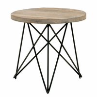 Orient Express Canvas Accent Table