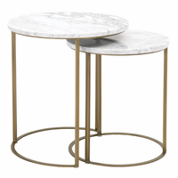 Orient Express Carrera Round Nesting Accent Table