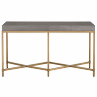 Orient Express Strand Shagreen Console Table