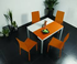 """Orlando"" - Console / DINING Table Orange"