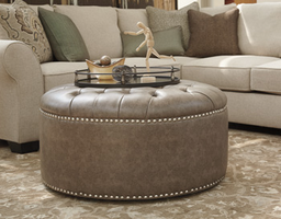 Ashley Express Furniture Oversized Accent Ottoman, Gray
