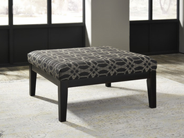 Ashley Express Furniture Oversized Accent Ottoman, Pewter