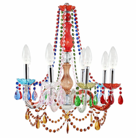 Palace Acrylic Chandelier, Multicolored [FREE SHIPPING]
