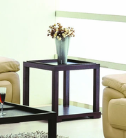 Beverly Hills Parson Wenge End Table