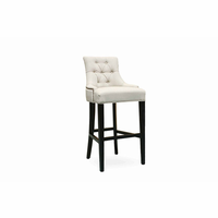 Pasha Furniture Camil Bar Stool Tufted with Nails