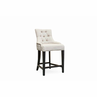 Pasha Furniture Camil Counter Stool Tufted with Nails