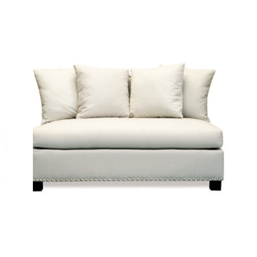 Pasha Furniture Nova Sectional Armless Loveseat