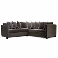 "Pasha Furniture Wanderlust 98"" Square Sectional"