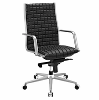 Pattern Highback Office Chair, Black [FREE SHIPPING]