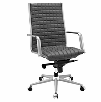 Pattern Highback Office Chair, Gray [FREE SHIPPING]