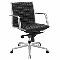 Pattern Office Chair, Black [FREE SHIPPING]