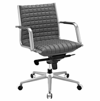 Pattern Office Chair, Gray [FREE SHIPPING]