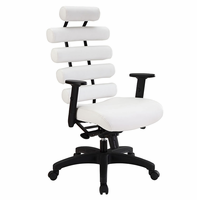 Pillow Office Chair, White [FREE SHIPPING]