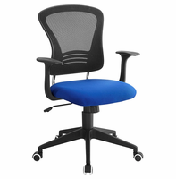 Poise Office Chair, Blue [FREE SHIPPING]