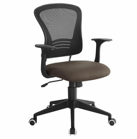 Poise Office Chair, Brown [FREE SHIPPING]