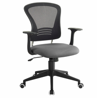 Poise Office Chair, Gray [FREE SHIPPING]