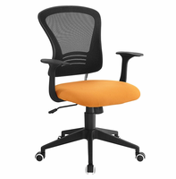 Poise Office Chair, Orange [FREE SHIPPING]