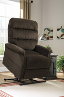 Ashley Furniture Power Lift Recliner, Chocolate
