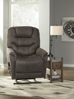 Ashley Furniture Power Lift Recliner, Gunmetal