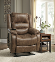 Ashley Furniture Power Lift Recliner, Saddle