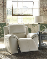 Ashley Furniture Power Recliner, Cream