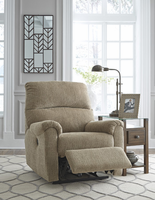 Ashley Furniture Power Recliner, Mocha