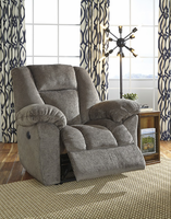 Ashley Furniture Power Recliner, Taupe