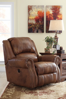 Ashley Furniture Power Rocker Recliner, Auburn