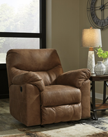 Ashley Furniture Power Rocker Recliner, Bark
