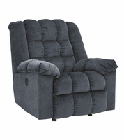 Ashley Furniture Power Rocker Recliner, Blue