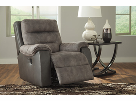 Ashley Furniture Power Rocker Recliner, Brownstone