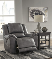Ashley Furniture Power Rocker Recliner, Charcoal