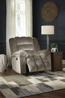 Ashley Furniture Power Rocker Recliner, Cocoa
