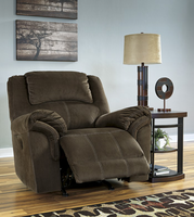 Ashley Furniture Power Rocker Recliner, Coffee