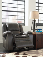 Ashley Furniture Power Rocker Recliner, Gray