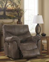 Ashley Furniture Power Rocker Recliner, Gunsmoke