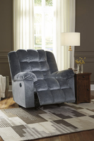 Ashley Furniture Power Rocker Recliner, Marine