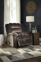Ashley Furniture Power Rocker Recliner, Mocha