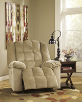 Ashley Furniture Power Rocker Recliner, Sand
