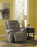 Ashley Furniture Power Rocker Recliner, Smoke