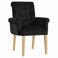 Premise Wood Armchair, Black [FREE SHIPPING]